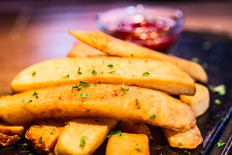 Al Carbon Stake fries
