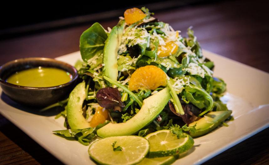 Al Carbon Arugual, Mandaring Wedges Salad