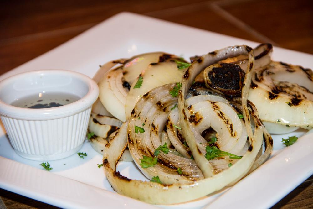 Grilled Onion Al Carbon Best Burger Miami 33145
