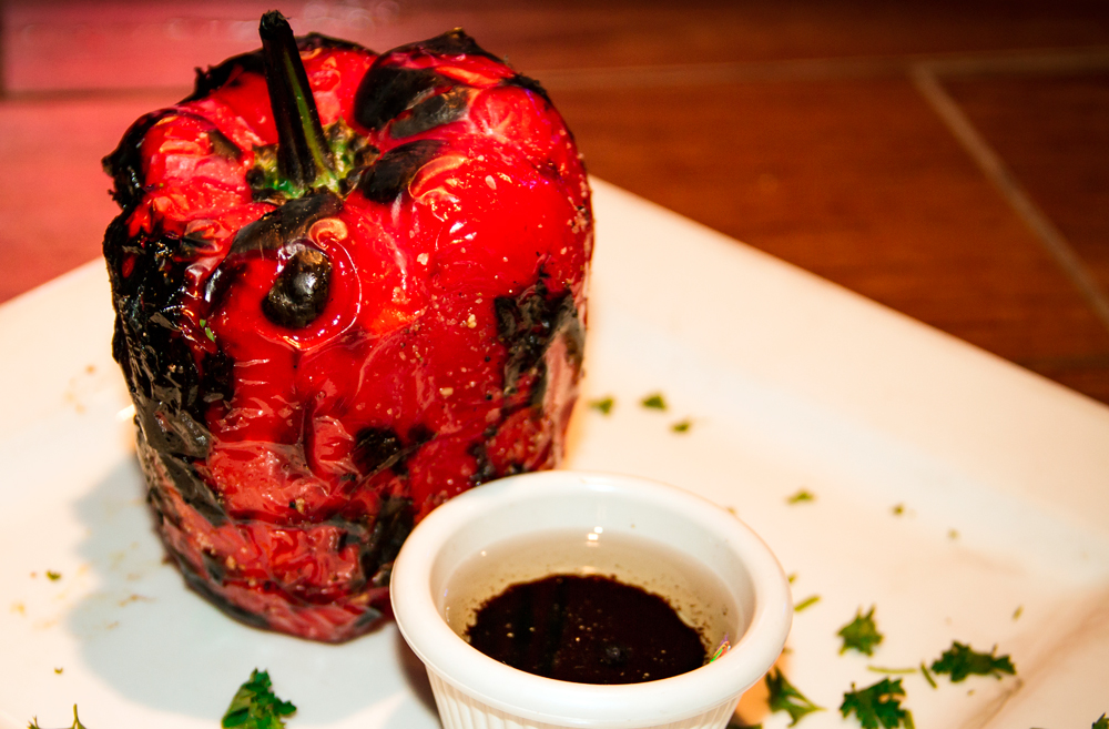 Grilled Red pepper Al Carbon Best Burger Miami 33145