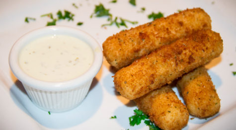 Mozzarella Sticks Al Carbon Best Burger Miami 33145